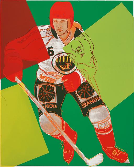 Andy Warhol, 'Frolunda Hockey Player', 1986, Phillips