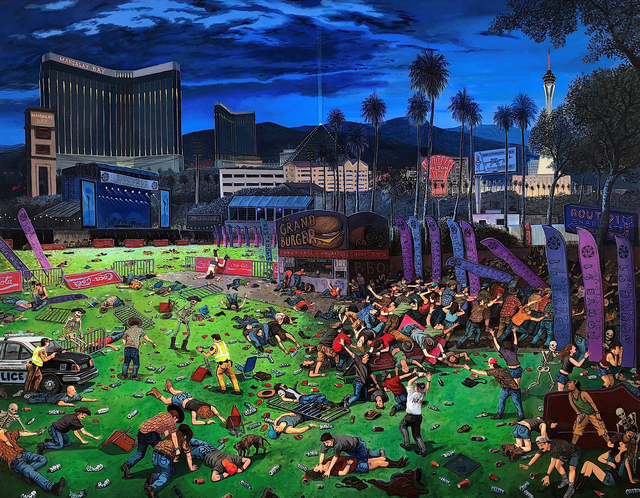 , 'The Triumph of Death (Las Vegas),' 2018, P.P.O.W