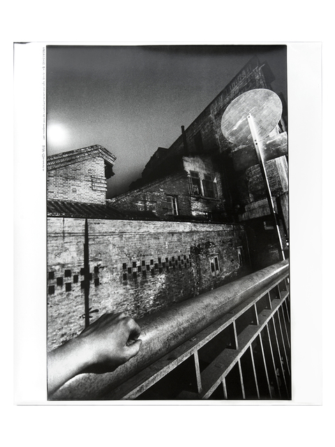 , 'Night Scene with the Photographer's Left Hand,' 1987, Blindspot Gallery
