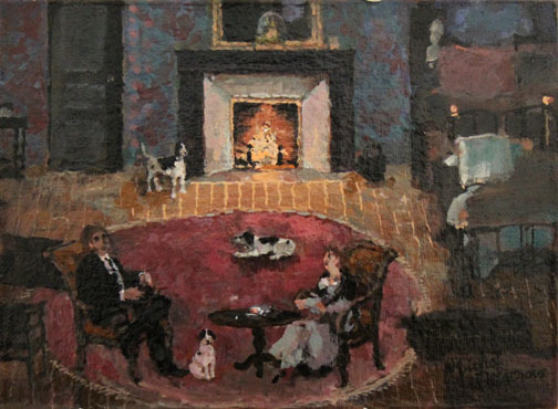 , 'Les trois chiens,' , Hugo Galerie
