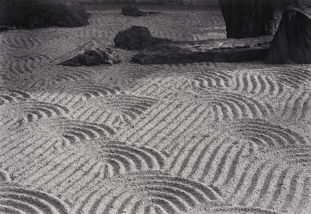Paul Caponigro, 'Sand Garden, Tofukuji Temple, Kyoto, Japan', 1976, Pucker Gallery