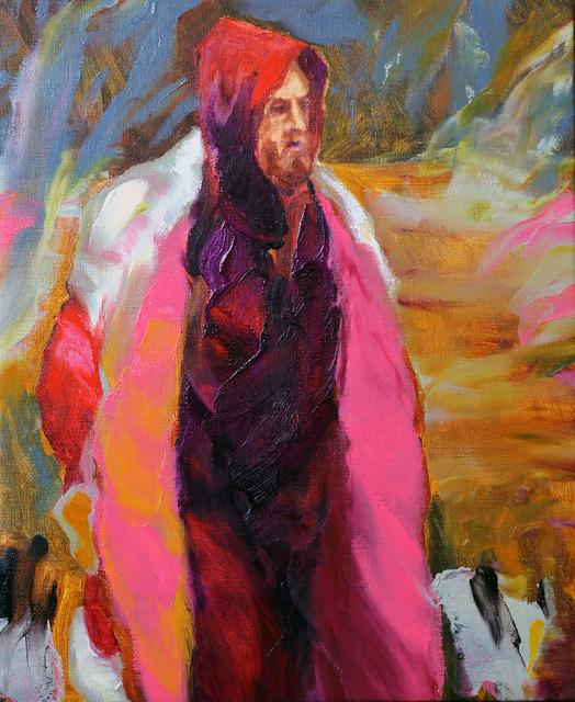 Gaël Davrinche, 'The pink coat', 2017, Mazel Galerie