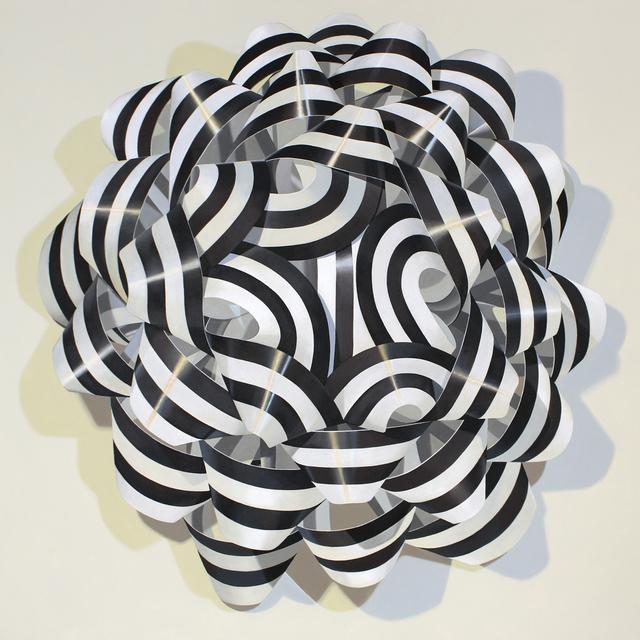 , 'Black and White Bow,' 2018, Nancy Margolis Gallery
