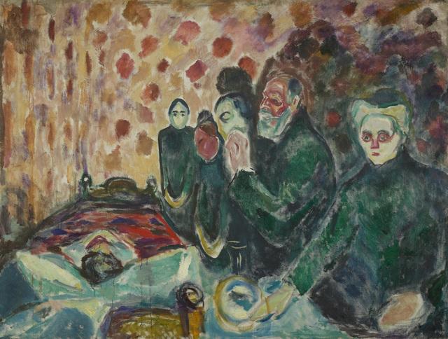 , 'Death Struggle,' 1915, Museo Thyssen-Bornemisza