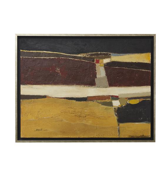"Fouad Bellamine, 'Untitled (""Abstract"")', 1973, Barjeel Art Foundation"