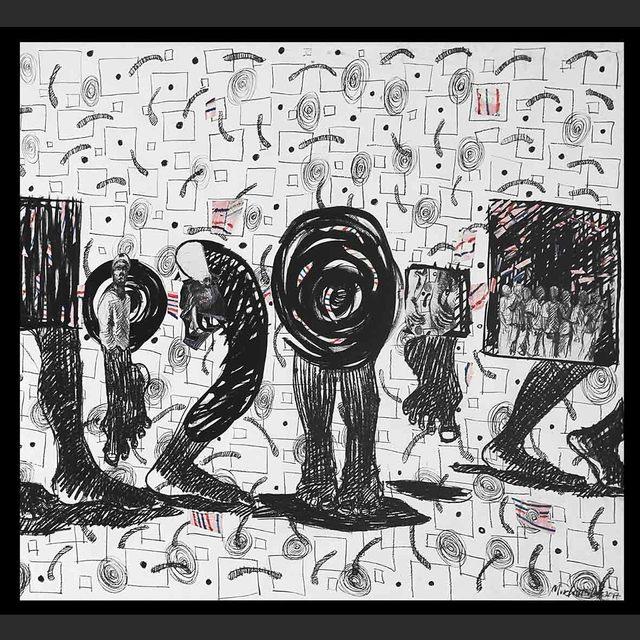 , 'Movement of Jah People (2),' 2018, Eclectica Galleries