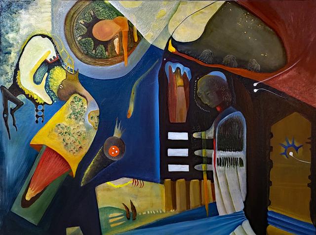 Robert Zurer, 'We've Only Just Begun', 2019, Painting, Oil on canvas, InLiquid