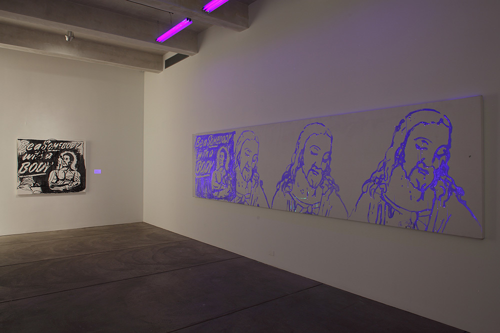 Installation view of Andy Warhol: My Perfect Body, The Andy Warhol Museum, 2016
