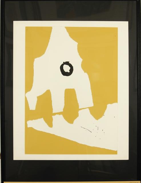 "Robert Motherwell, 'Untitled from portfolio ""Ten Works by Ten Painters""', 1964, Gutan Art Gallery"
