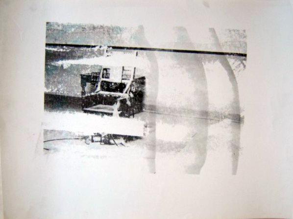 Andy Warhol, 'Electric Chair (Retrospective Series)', 1978, Print, Unique screenprint, Hamilton-Selway Fine Art