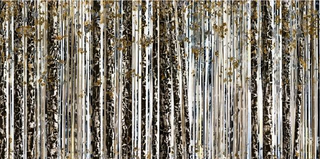 , 'Pines with Slate and Leaf,' 2016, Diehl Gallery