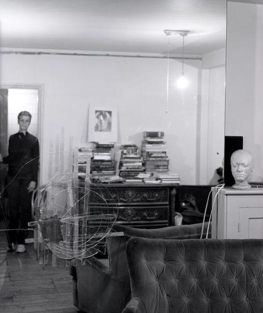 Linda McCartney, 'Self-Portrait, Francis Bacon's Studio, London', 1997, James Hyman Gallery