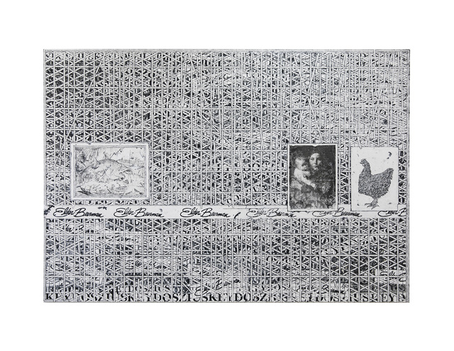 , 'Untitled (Large white grid),' 2019, Lehmann Maupin