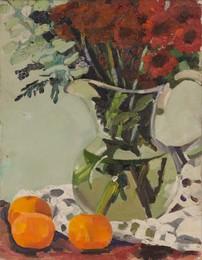 (i) Untitled [Vase of Flowers]; (ii) Untitled [Winter Tree]