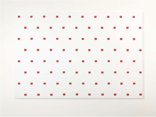, 'Brush Marks, 50 units at intervals of 30 cm,' 2008, Alfonso Artiaco