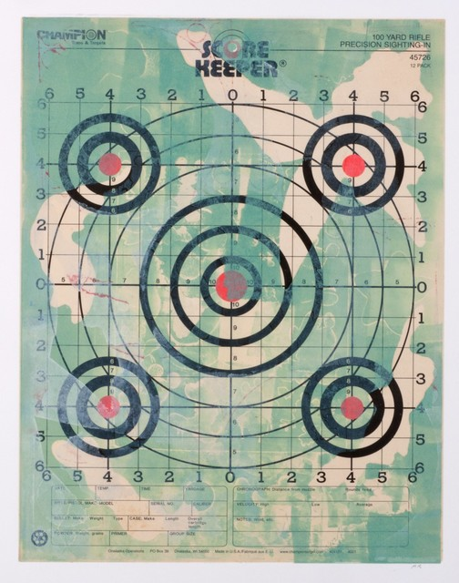 , 'Paper Target Series: Mickey Scorekeeper 3,' 2014, ODETTA
