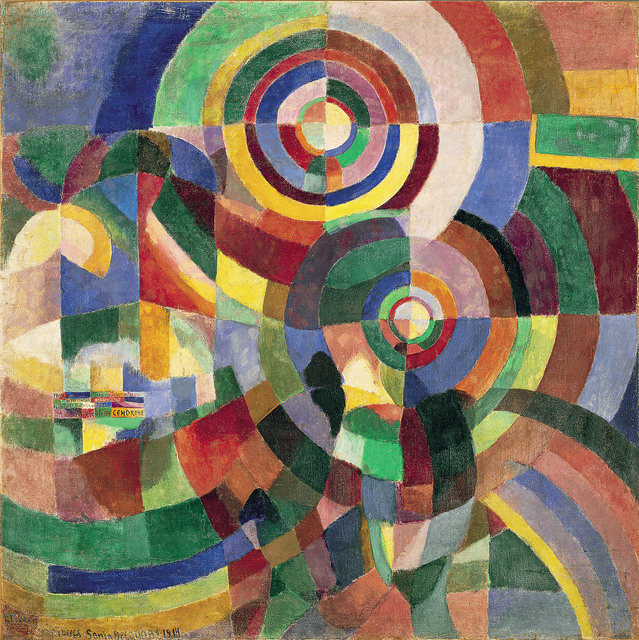 , 'Electric Prisms,' 1914, Tate Modern