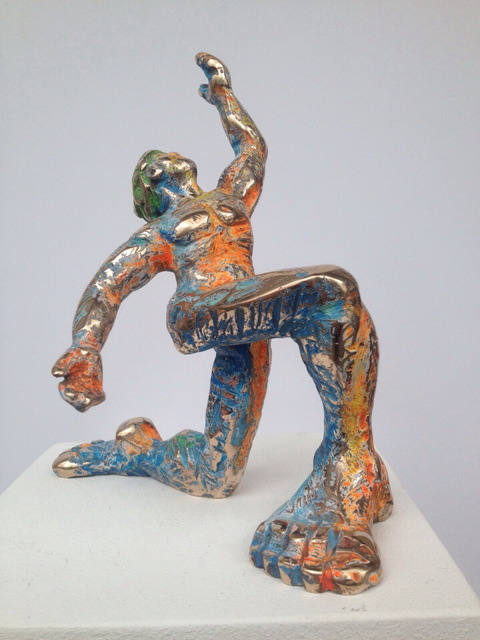 , 'Der Verehrer,' 2015, Galerie Klose