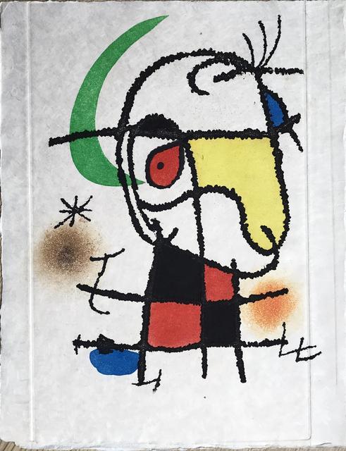 , 'Le Vent Parmi les Roseaux - Frontispiece (unsigned),' 1971, Fairhead Fine Art Limited