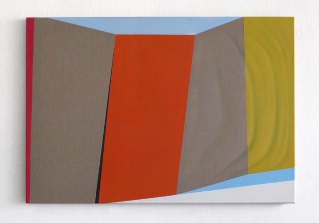, 'Fahne L4,' 2015, Galerie Heike Strelow