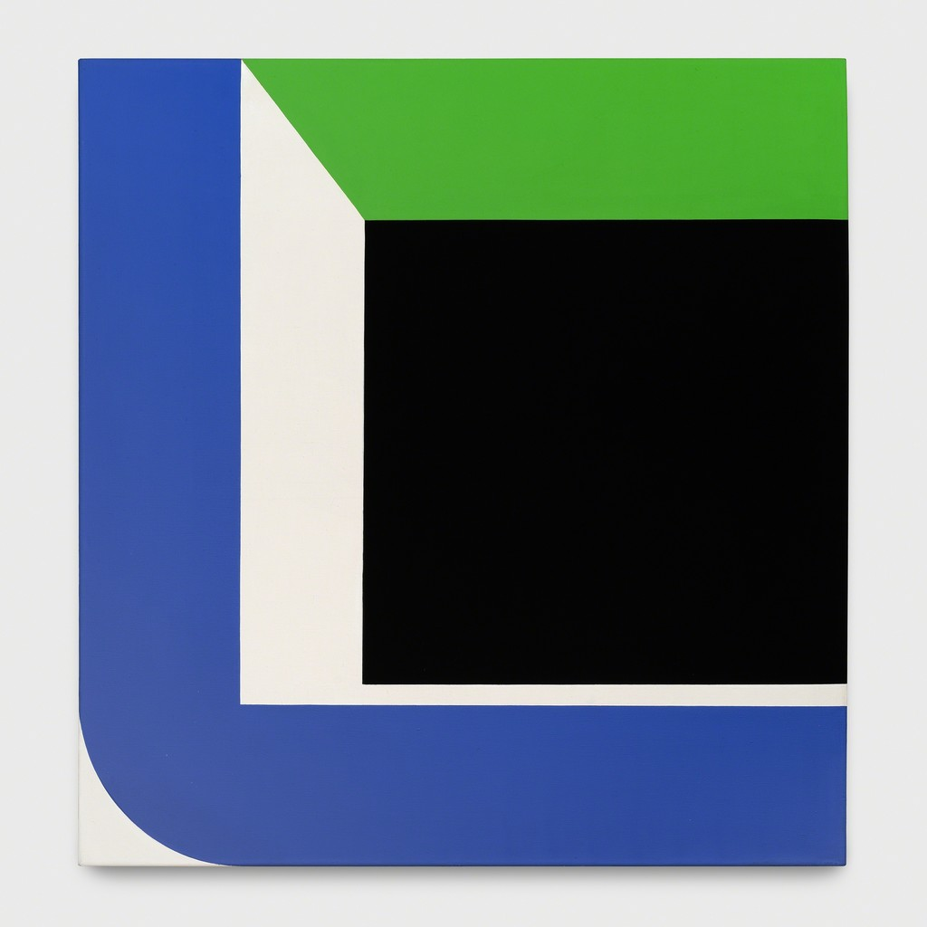 Georg Karl Pfahler S-BLGR 1967-1969 acrylic canvas 200 x 190 cm
