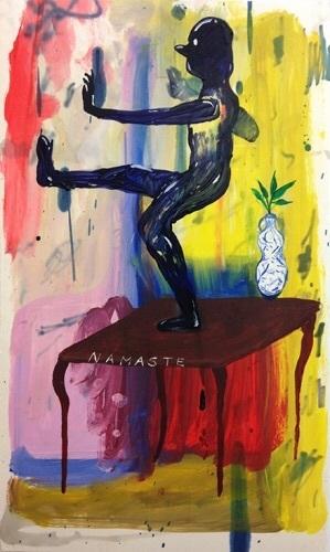 , 'Namaste,' 2014, Freight + Volume