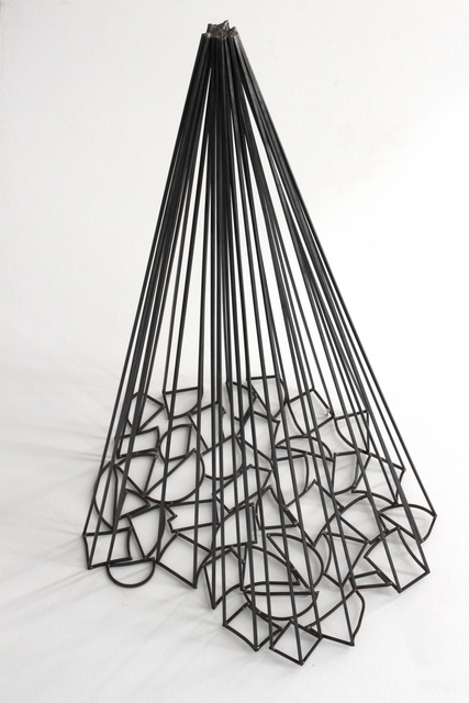 , 'Brenn-Punkt,' 2016, Galleria Doris Ghetta