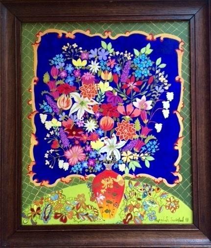 , 'Chrysanthemum Vase,' 2011, Rebecca Hossack Art Gallery