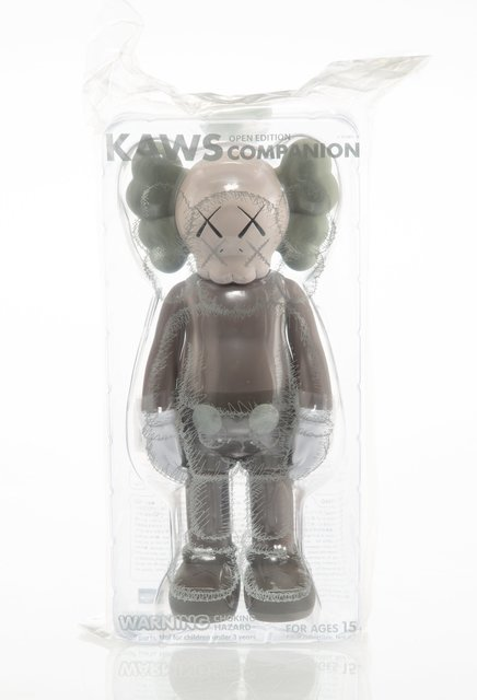 KAWS, 'Companion (Brown)', 2016, Sculpture, Painted cast vinyl, Heritage Auctions