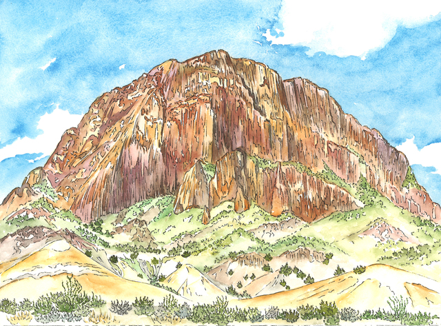 , 'Willow Mountain, Big Bend National Park,' 2015, Ro2 Art