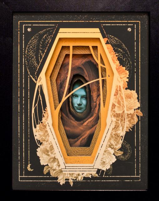 , 'Gilded Casket,' 2018, Paradigm Gallery + Studio