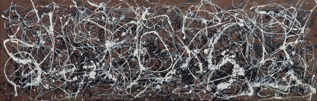 Jackson Pollock, 'Number 13A: Arabesque', 1948, Painting, Oil and enamel on canvas, Yale University Art Gallery