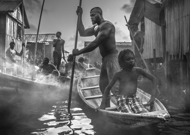 David Yarrow, 'A Ship Called Dignity', 2017, Photography, Archival Pigment Print, Hilton Asmus