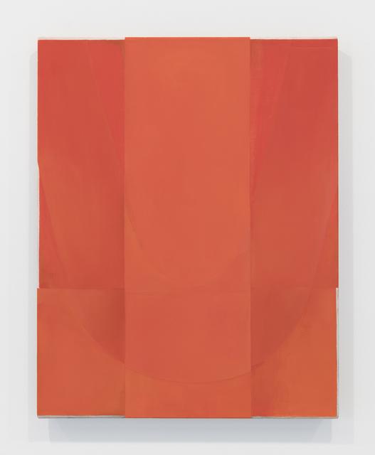 , 'Untitled (Red, Three Vertical Planes),' 2016, Nathalie Karg Gallery