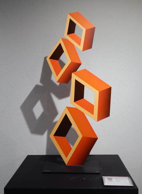 , 'Orange Perspective (Medium),' 2019, Aura Galerias