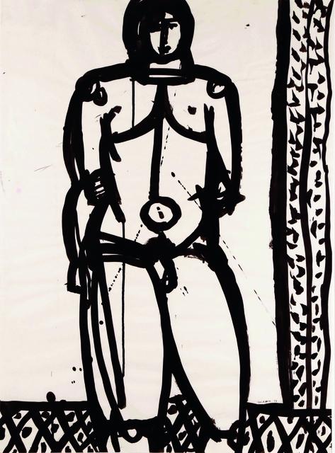 Joseph Glasco, 'Standing Nude', 1973, WOLFS