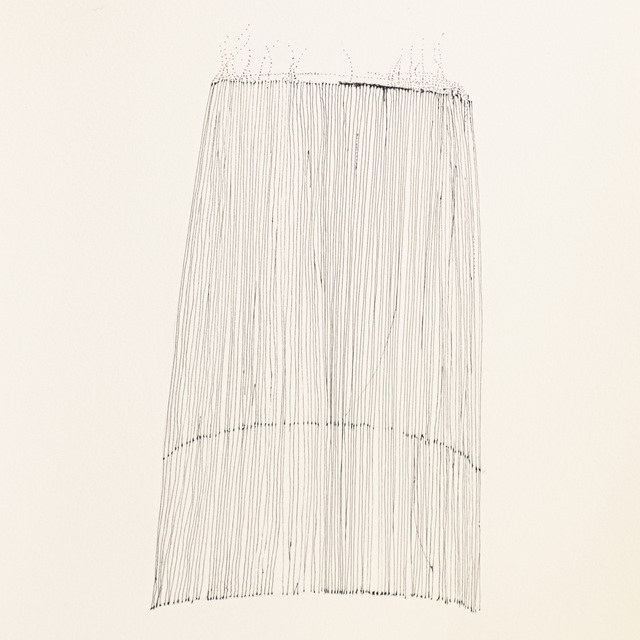 Elizabeth Youngblood, 'Leaning', 2020, Drawing, Collage or other Work on Paper, Ink on paper, M Contemporary Art