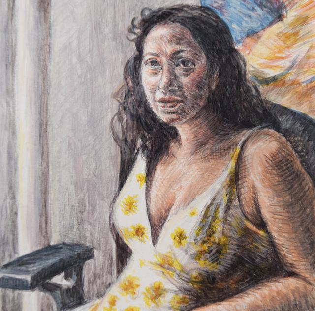 , 'Louisa,' 2018, Fountain House Gallery