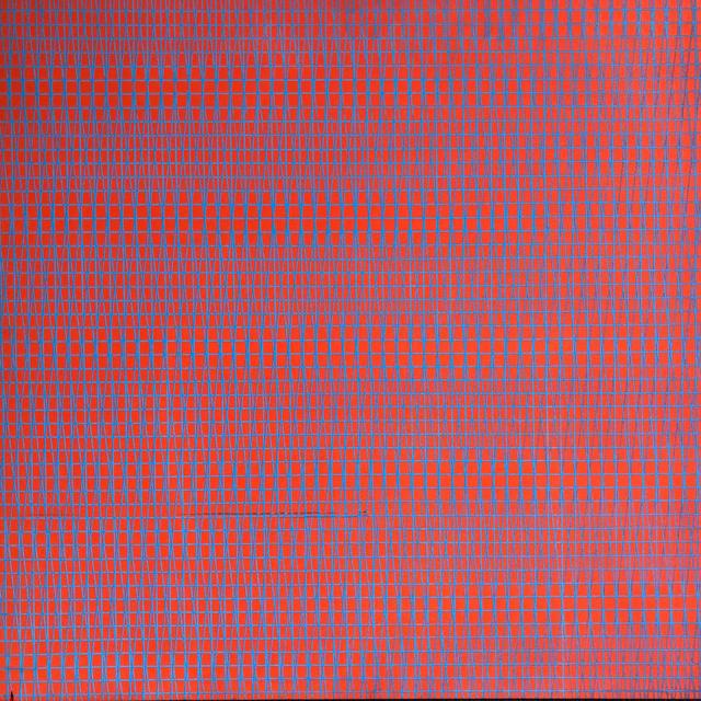 François Morellet, '3 trames 83-90-95°', 1959, Painting, Serigraphic ink on wood, Galerie Thomas
