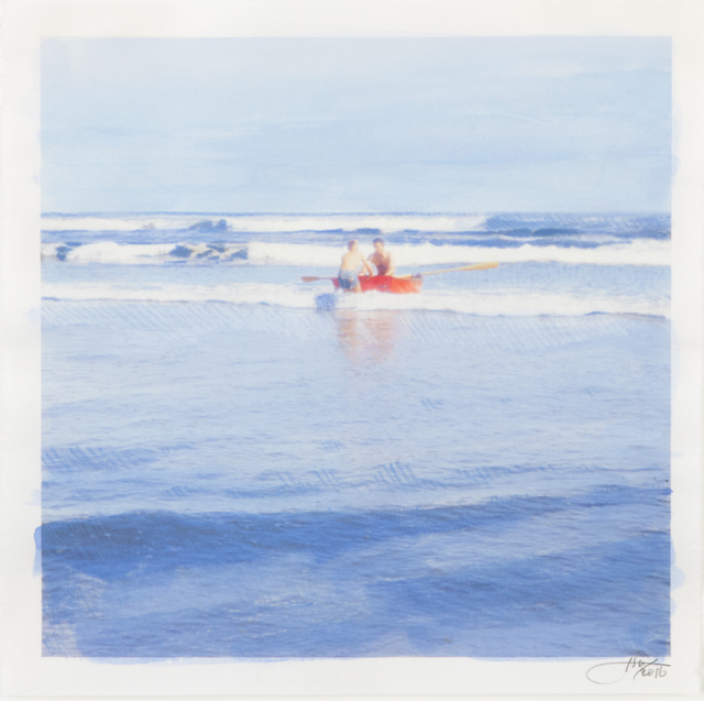 , 'Red Boat,' 2016, Dubner Moderne