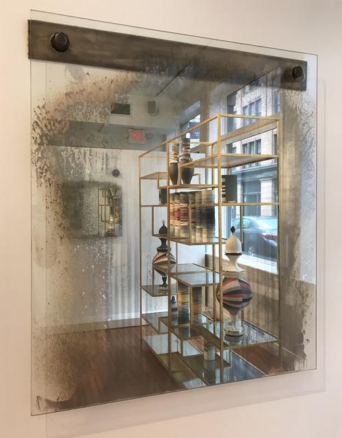 , 'Olitski-style Mirror,' 2018, Wexler Gallery