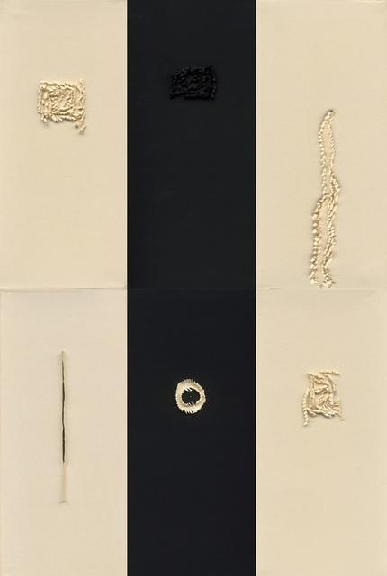 Chu Weibor, 'Stabilizing 定立 ', 1998, Mixed Media, Cotton, Asia Art Center