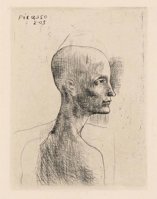 Pablo Picasso, 'BUSTE D'HOMME (B. 4)', 1905, Doyle