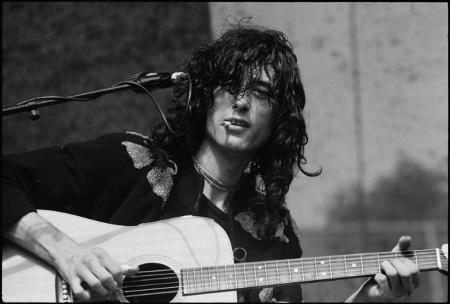 , 'Jimmy Page, Led Zeppelin At Day On The Green ,' 1977, Milk Gallery