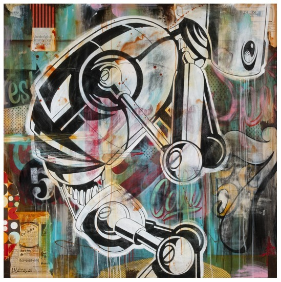 Johnny Rodriguez (KMNDZ), 'Walk In Silence', 2012, KP Projects