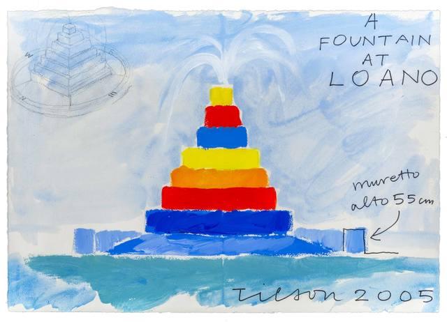 Joe Tilson, 'A Fountain at Loano', 2005, ArtRite