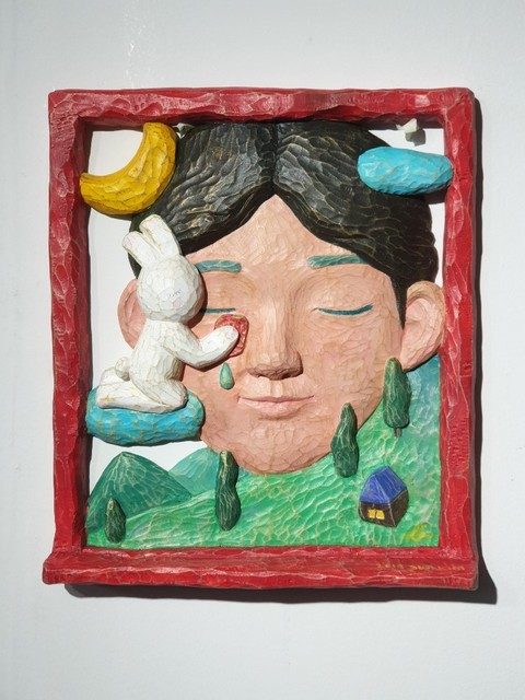 Sun Kim, 'Red Window Series Wiping Lover's Tear', 2019, ART MORA