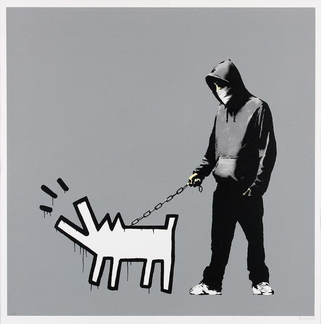 Banksy, 'Choose Your Weapon (Grey)', 2010, Gormleys Fine Art