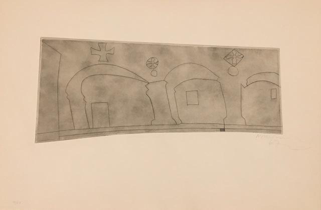 Ben Nicholson, 'Long Horizontal Patmos ', 1967, Galerie Céline Moine & LGFA