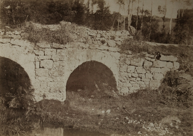 , 'Stone Bridge Saurat,' ca. 1850, James Hyman Gallery